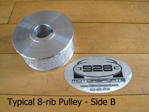 """Paxton Premium 8-rib Pulley 2.93/"""" with Sur-Grip® Vortech Powerdyne"""