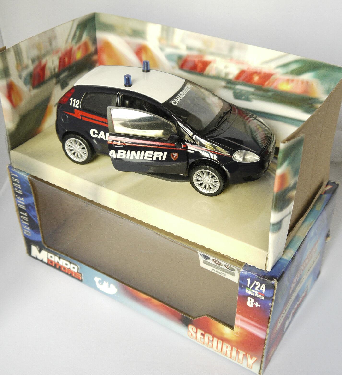 PRL) Carabinieri CC fiat punto  Police Force Army Emergency Model Polizei