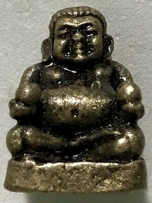 PHRA LP PAI RARE OLD THAI BUDDHA AMULET PENDANT MAGIC ANCIENT IDOL#10