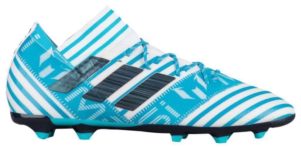 adidas nemeziz messi 17,2 7 fg männer stollenschuhe (größe 7 17,2 - 13), blau - weiße cg2964 ea0834
