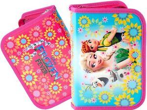 Disney-Frozen-Pencil-Case-Pouch-Fever-School-Girls-Anna-Elsa