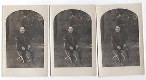 CARTE PHOTO Lot 13 photos identiques même Militaire Soldat Vers 1910 Régiment 3 - France - État : Occasion: Objet ayant été utilisé. Consulter la description du vendeur pour avoir plus de détails sur les éventuelles imperfections. ... - France