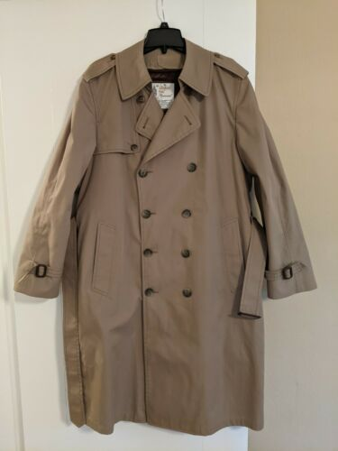 London Fog Iconic Trench Coat Removable Liner 40R
