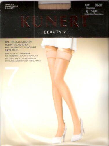 SUN Kunerl Beauty 7-halterlose Bas Taille I-III teint Candy