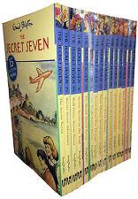 Enid Blyton Complete Original Secret Seven Series 15 Full Books Collection Set