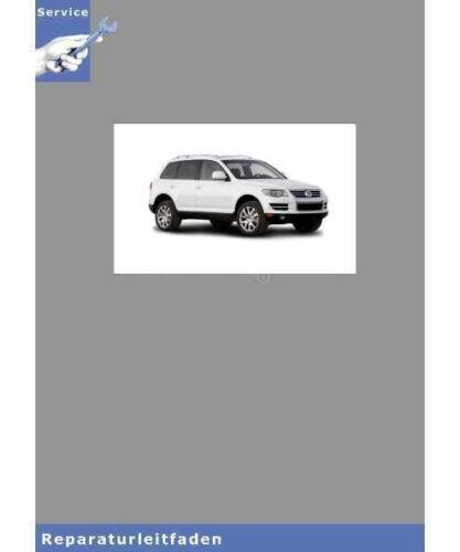 tipo 7l 02-10 5-zyl Dieselmotor-istruzioni di riparazione VW Touareg