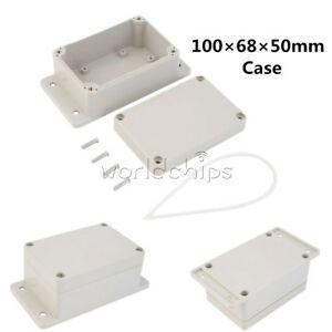 Waterproof-100-x-68-x-50mm-Plastic-Electronic-Project-Box-Enclosure-Case-New