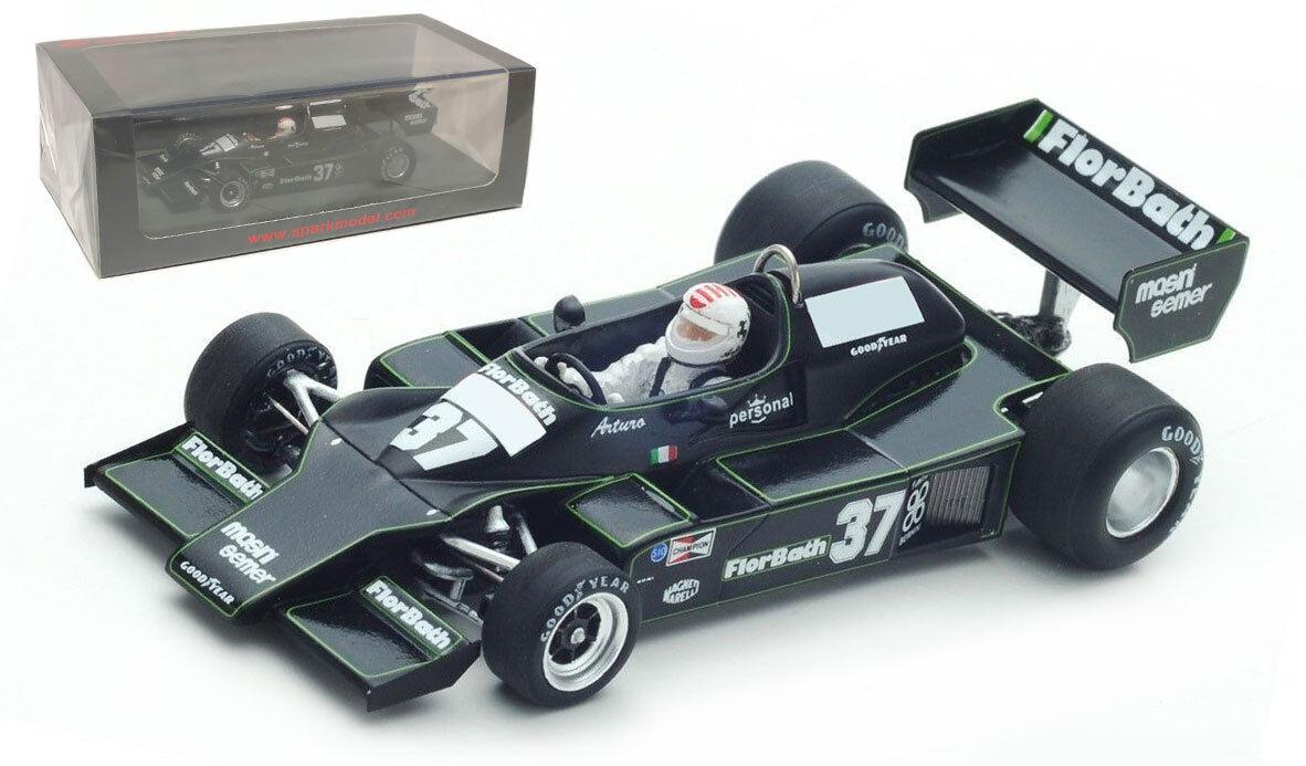 marcas de diseñadores baratos Spark S4847 Merzario A1  37 italiano italiano italiano GP 1978-Arturo Merzario 1 43 Escala  en promociones de estadios