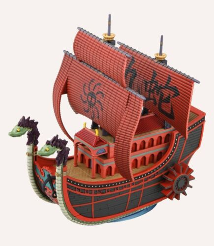 New Bandai ONE PIECE Grand Ship Collection Nine Snake Pirate Ship Kit Japan