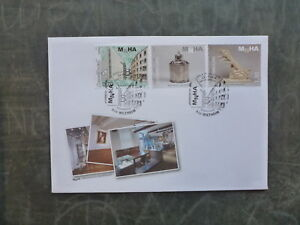 2015-LUXEMBOURG-ART-amp-HISTORY-SET-3-STAMPS-FDC-FIRST-DAY-COVER