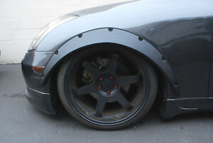 Universal Car Fender Flares Wheel Arches Flexibe Over Wide Body Kit