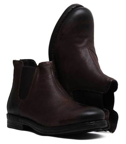 Uk Durand 12 Replay Cuir 6 Bottes Hommes Chelsea Taille Brun dYAOaqCAwx