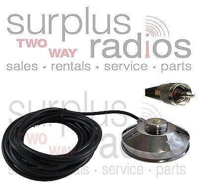 NMO 3//4 Hole Mount Antenna UHF VHF PL259 Kenwood Icom Vertex HYT F5011 F5021