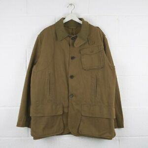 Vintage-POLO-RALPH-LAUREN-Beige-Reversible-Hunting-Jacket-Mens-Size-Large