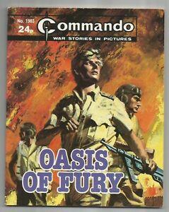 COMMANDO-WAR-COMIC-NO-1963-034-OASIS-OF-FURY-034-GOOD-CONDITION-1986