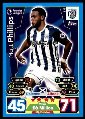TOPPS MATCH ATTAX 2017-18 #330-WEST BROMWICH ALBION-AHMED HEGAZI
