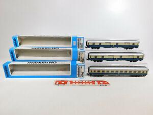 CK732-1-3x-Maerklin-H0-AC-Personenwagen-etc-DB-4092-4093-leichte-Maengel-OVP