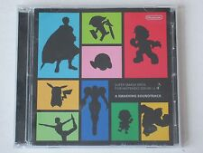 Super Smash Bros. OST 2-CD Re Blue Smashing Soundtrack Game Anime Nintendo