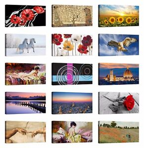 Quadro-Moderno-100x50-cm-stampa-su-tela-con-telaio-arredamento-arredo-arte-casa