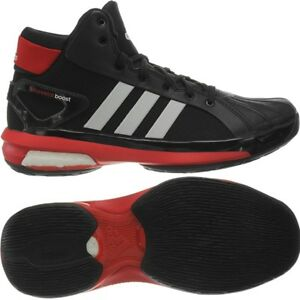 newest 27cff fe9d8 Image is loading Adidas-Futurestar-Boost-black-red-white-Men-039-