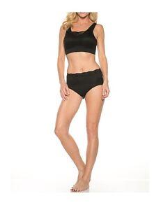 Rhonda-Shear-Women-039-s-Seamless-Bra-with-Lace-Overlay-9346