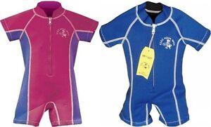 AZZURRO ONDA bambini muta nuoto SOLE Costume da bagno NEONATO ...