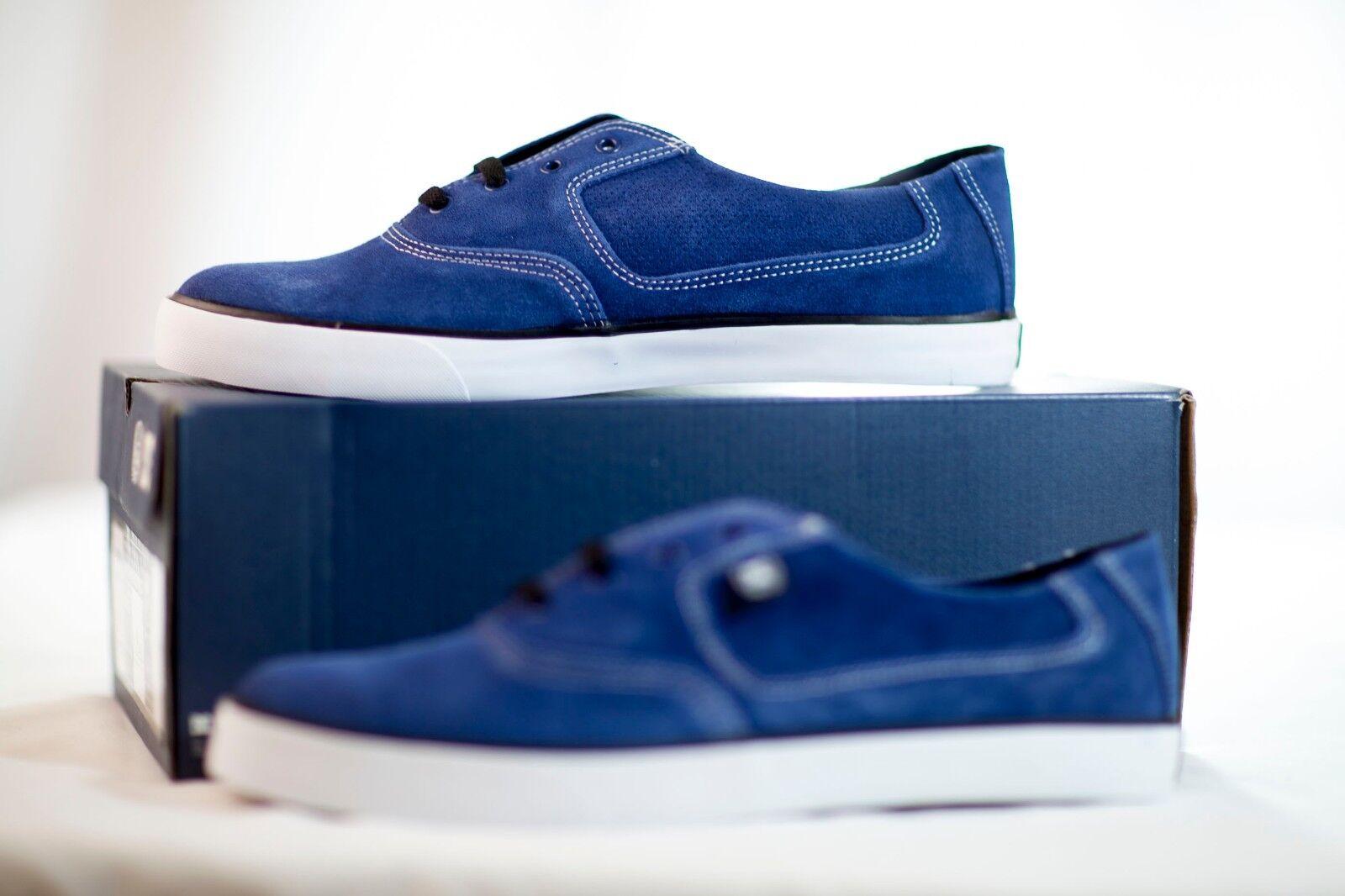 DC DC DC Zapatos Fix S BERRICS skate Para hombres Zapatos de raíces Azul/Blanco Talla M11.5 Nuevo en Caja a1af5b