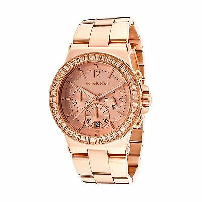 Michael Kors Ladies Oversize Dylan Rose Gold-Tone Watch - 43 mm MK5412 MSRP $295