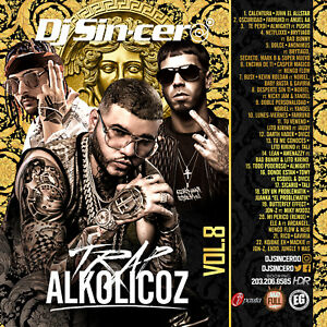 Details about DJ SINCERO Trap Alkolicoz 8 Reggaeton Latin Spanish Mixtape  CD MIX Farruko Anuel