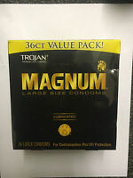 Trojan Magnum Lubricated 36 Pack