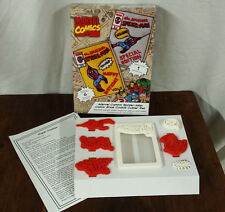 Spider Man Cookie Cutter Set NIB Marvel Comics 6 Stamps Williams Sonoma Amazing