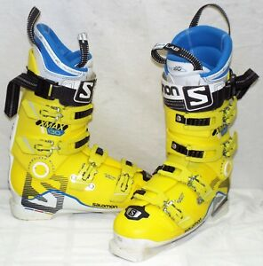 Details about Salomon X Max 130 Used Men's Ski Boots Size 26.5 #632496