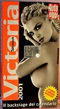VHS Victoria Silvstedt - backstage calendario 2001 di Auto Oggi