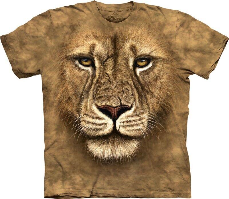 The Mountain Lion Warrior T Shirt Top Löwe Wildnis Tiere Animal  S-3XL  3218 534   | Starker Wert  | Förderung  | Billig ideal