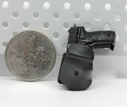 "Gun Hanging For 12/"" Action Figure 1//6 Scale Weapon Model Swiss SIG P226 Pistol"