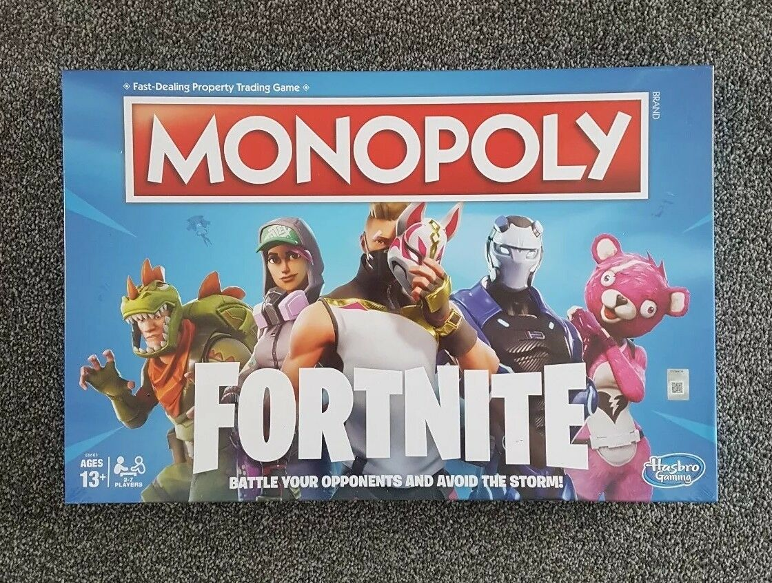 Monopoly Fortnite Edition Board Game - new and sealed Hasbro
