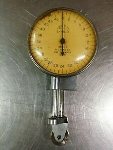 """SPI JZ200 Kafer Thickness Gage German Made 2/"""" Dial 0.001/"""" Resolution 7//16/"""" Throw"""