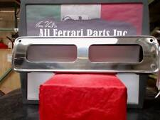 Ferrari Part 2427401008 FRONT NUMBER PLATE FRAME (CHROME PLATED), 275GTS, 330GT,