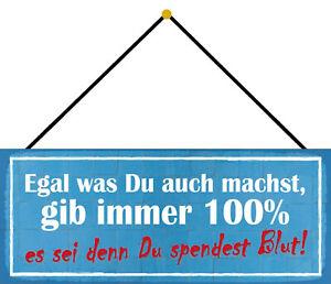 Gib Immer 100% Tin Sign Shield with Cord Metal 10 X 27 CM K0614-K