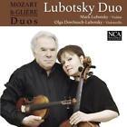 Mozart & Glière Duos von Lubotsky Duo (2015)