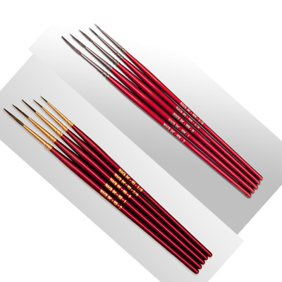 Mack DC Micro Script /& Micro Mono By Dewayne Connot Pinstriping Brush Set of 10