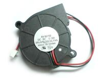 Dc 50mm X 15mm Turbine Brushless Cooling Blower Fan 5015s 5v 0.15a