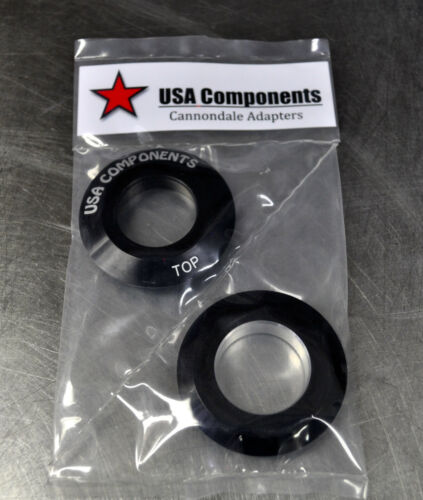 Cannondale Headset Adapter Reducer Headshox Lefty 1 1//2 to 1 1//8 standard fork