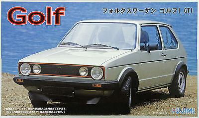 Fujimi RS-58 Volkswagen Golf I GTI 1/24 scale kit NZA