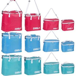 Foil-Insulated-Summer-Cooler-Bag-Lunch-Food-Cans-Ice-Box-Camping-Picnic-Bags-NEW