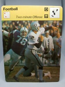 1978-SPORTSCASTER-NFL-CARD-36-20-KEN-STABLER-TWO-MINUTE-OFFENSE-MINT-CONDITION