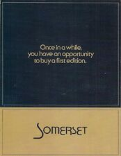 Buick Regal Somerset Limited Edition 1980 USA Market Sales Brochure