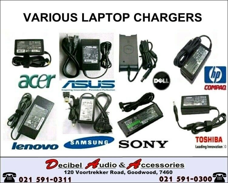 LAPTOP CHARGERS - WIDE RANGE OF REPLACEMENT LAPTOP CHARGERS