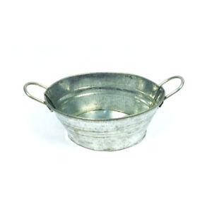 Bad Creal 75307 Waschzuber oval zink 1:12 für Puppenhaus NEU!#