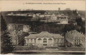 CPA PLOMBIERES-les-BAINS Grand Hotels et Nouveaux Thermes (151728)
